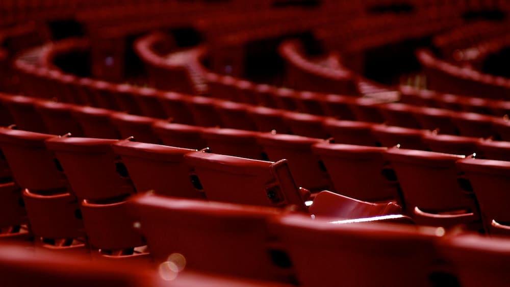 Butaques en una sala de teatre